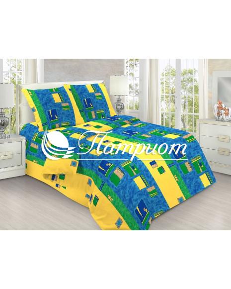 КПБ 1.5 спальный Пикассо, набивная бязь 125 гм2 126-1