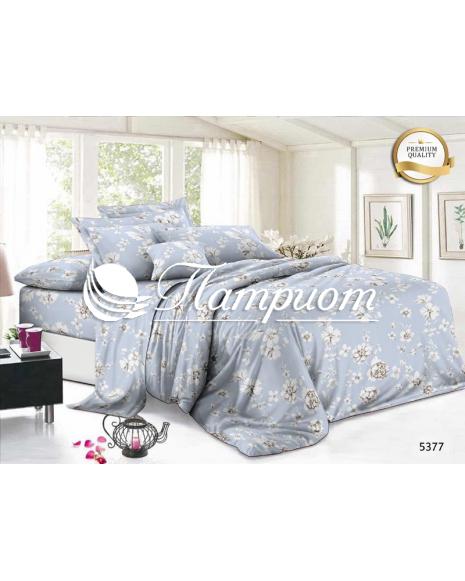 КПБ 2.0 спальный с Евро простыней, полисатин премиум 90 гр 5377 (80м)