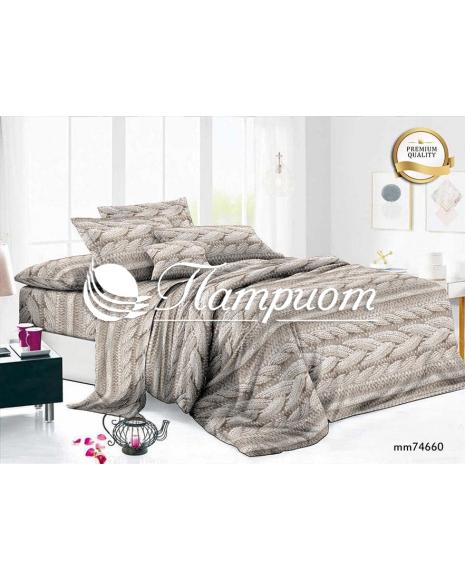 КПБ 2.0 спальный с Евро простыней, полисатин премиум 90 гр mm74660 (80м)