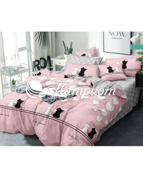 КПБ 2.0 спальный с Евро простыней, поплин 1755