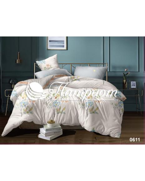 КПБ 2.0 спальный с Евро простыней, сатин 0611 (235) (75м)