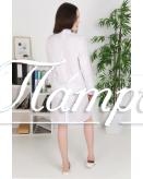 Халат медицинский женский «Модельный+» ткань ТИСИ Модель 13