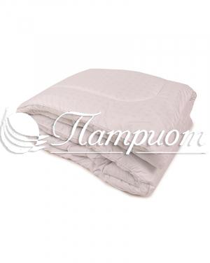Одеяло лебяжий пух 1.5 спальное в тике (Зима)