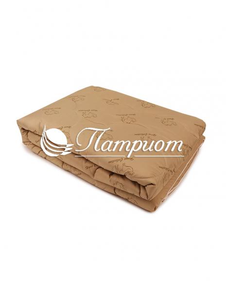 Одеяло верблюжья шерсть 1.5 спальное в тике (Зима)